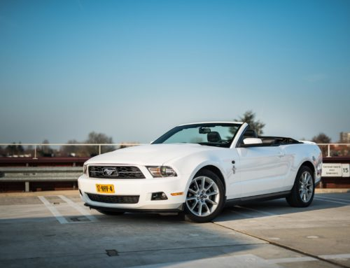 FORD MUSTANG CONVERTIBLE | WIT
