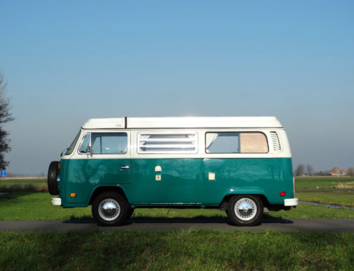 VOLKSWAGEN T2 ELECTRIC | GROEN